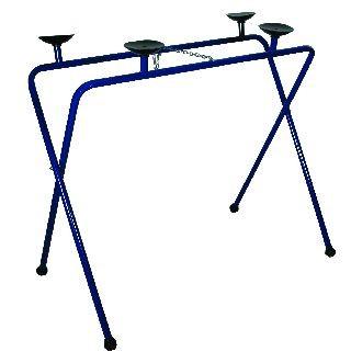 Ruitenbok blauw met 4 rubberen zuignappen