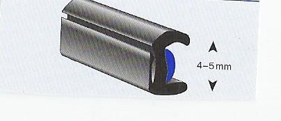 Universele binnenlijst 4-5 mm glas ( model Ren.5) rol 50 mtr.
