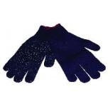 Werkhandschoenen donker blauw, supergrip. Maat L.