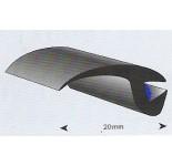 ProFlexx Economy EPDM profiel 20mm glad met butyl kit in het pro