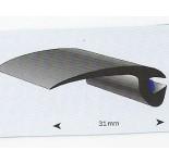 ProFlexx Premium EPDM profiel 31mm glad met butyl kit in het pro