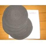 Damwand rubber 5x6mm. Rol 10 mtr. Doos met 5 rollen