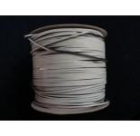 Damwand rubber 5 x 7 mm met elke 40 cm een rubber afstandhouder